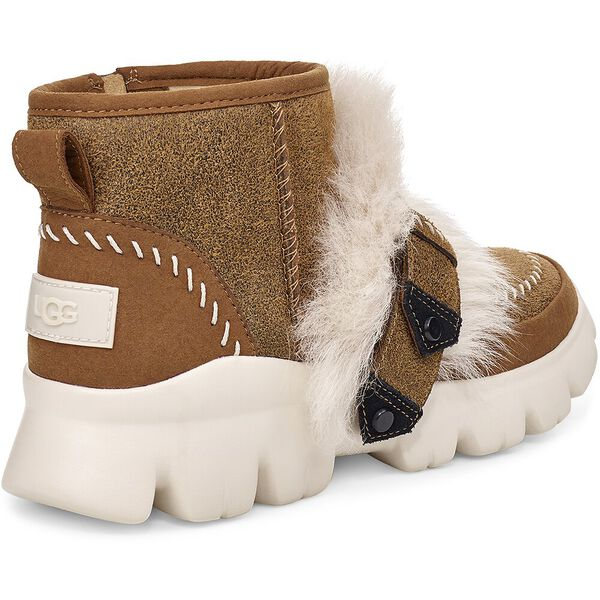 FLUFF PUNK ANKLE BOOT, CHESTNUT, hi-res