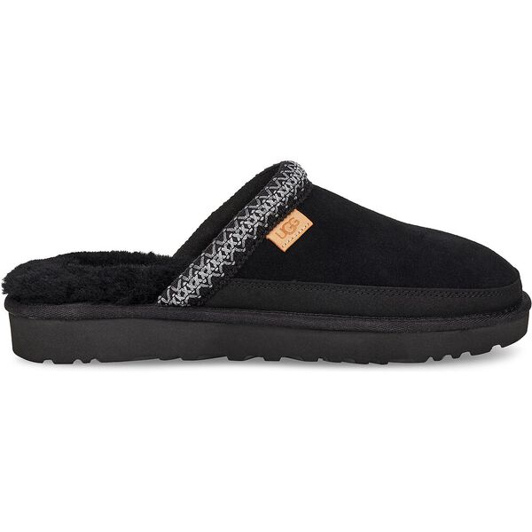 Tasman Slip-On Slipper, BLACK, hi-res