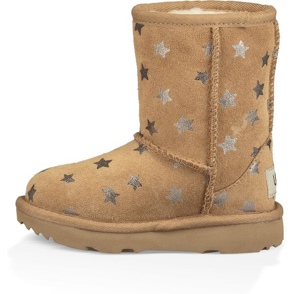 Toddlers Classic Short II Stars Boot, CHESTNUT, hi-res