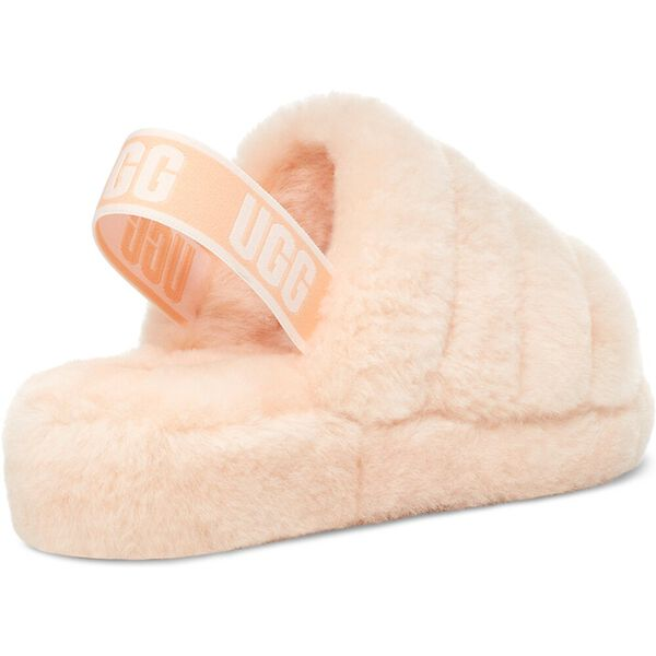 Womens Fluff Yeah Slide, SCALLOP, hi-res