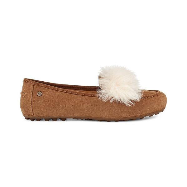 Womens Kaley Wisp Slipper, CHESTNUT, hi-res