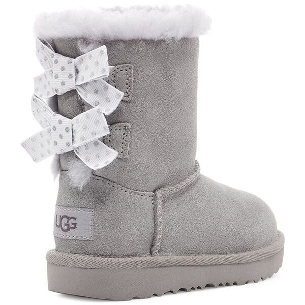Toddlers Bailey Bow Polka Dots Boot, SEAL, hi-res
