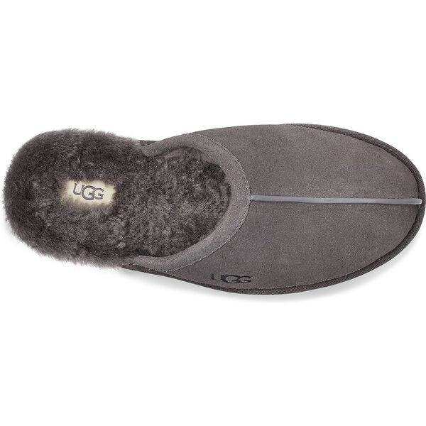 Scuff Slipper, CHARCOAL GREY, hi-res