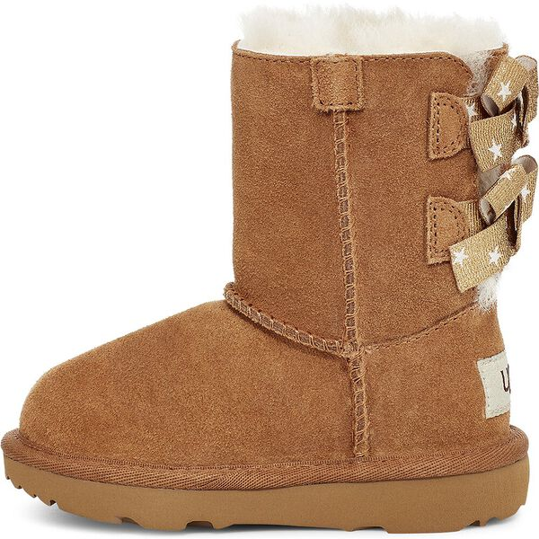 Toddlers Bailey Bow II Star Boot, CHESTNUT, hi-res