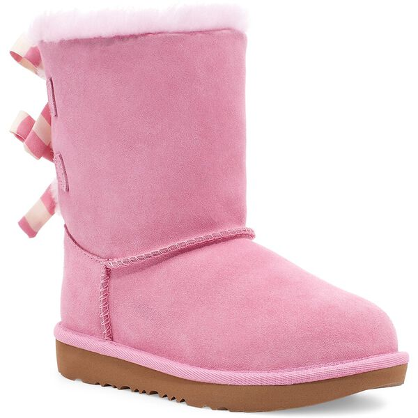 Kids Bailey Bow Striped Boot, LIPGLOSS, hi-res