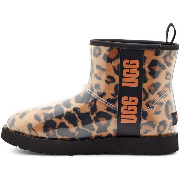 Womens Classic Clear Mini Panther Boot, PANTHER BUTTERSCOTCH, hi-res