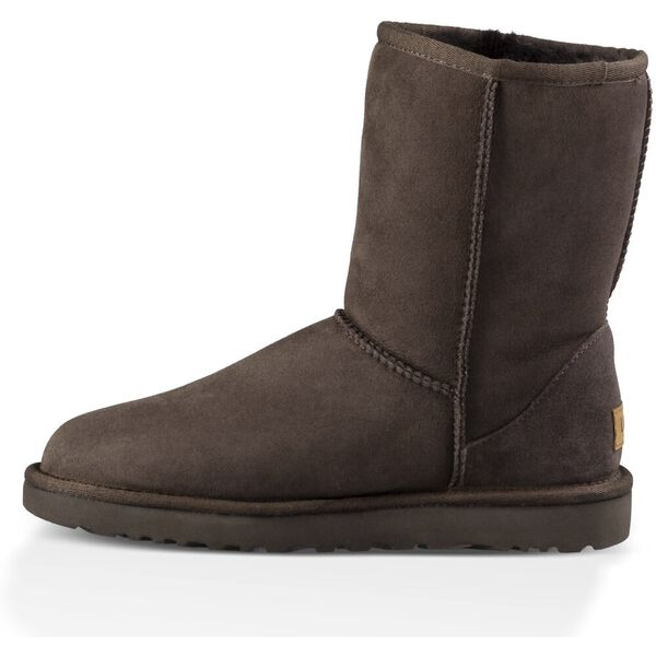 Womens Classic Short II Boot, CHOCOLATE, hi-res