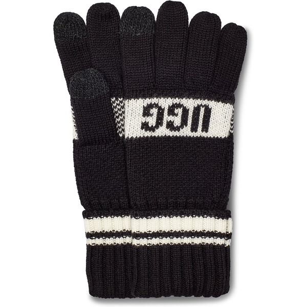 Knit Logo Glove