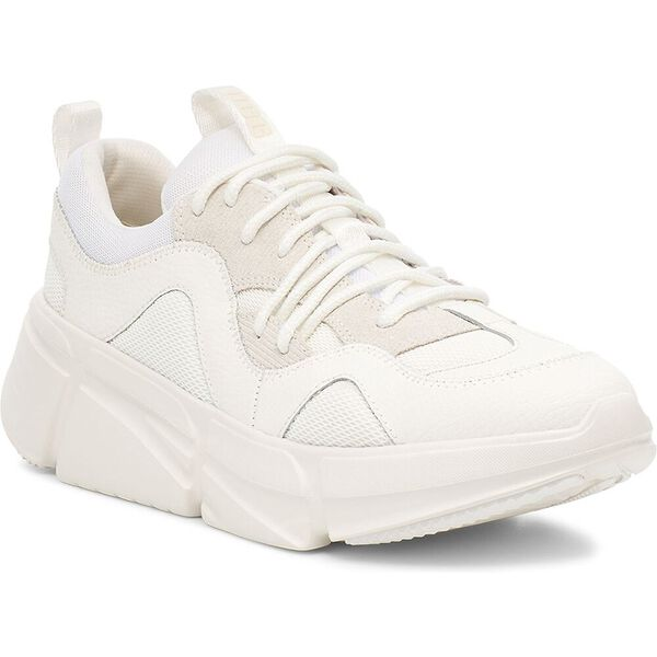 Womens Calle Lace Sneaker, WHITE, hi-res