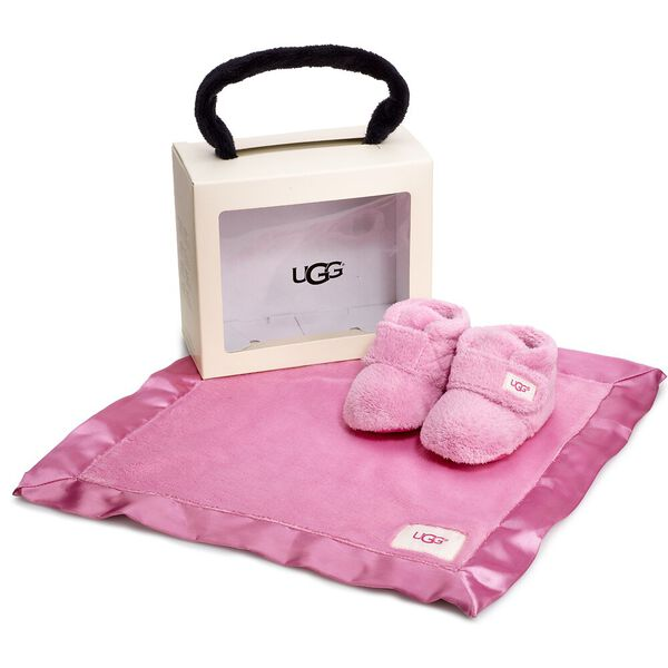 Infants Bixbee Bootie And Lovey Blanket