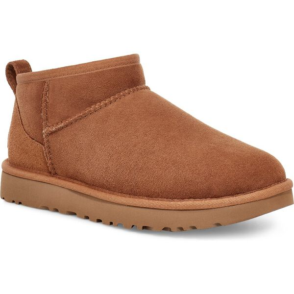 Classic Ultra Mini Boot, CHESTNUT, hi-res
