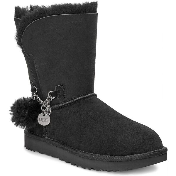 Classic Short Charm Boot, BLACK, hi-res