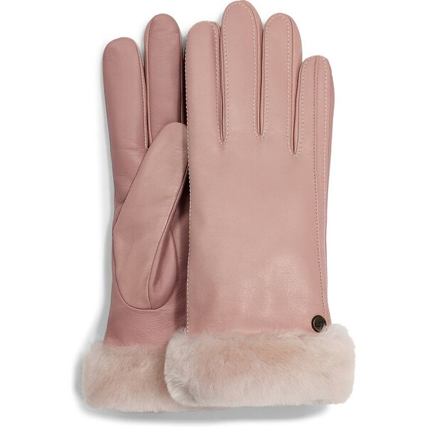 CLASSIC LEATHER TECH GLOVE, PINK CRYSTAL, hi-res