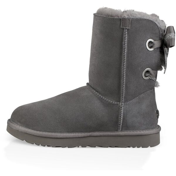 CUSTOMIZABLE BAILEY BOW SHORT BOOT, CHARCOAL, hi-res
