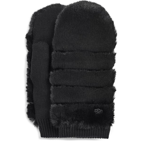 ALL OVER FAUX FUR MITTEN
