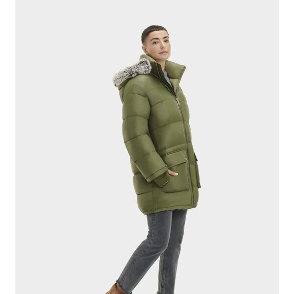 Womens Ozzy Mid-Length Puffer Jacket
