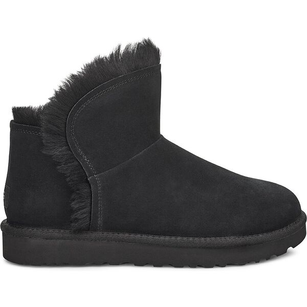 Classic Mini Fluff High-Low Boot, BLACK, hi-res