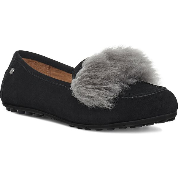 Womens Kaley Wisp Slipper, BLACK CHARCOAL, hi-res