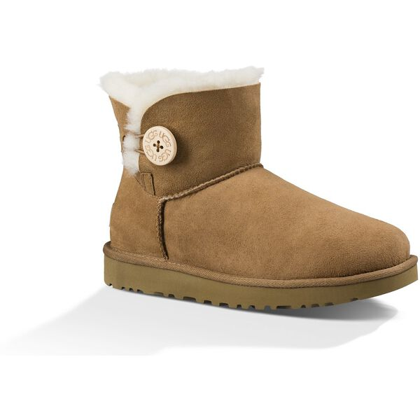 Womens Mini Bailey Button II Boot, CHESTNUT, hi-res
