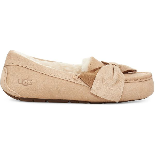 Ansley Two-Tone Bow Slipper, BRONZER, hi-res