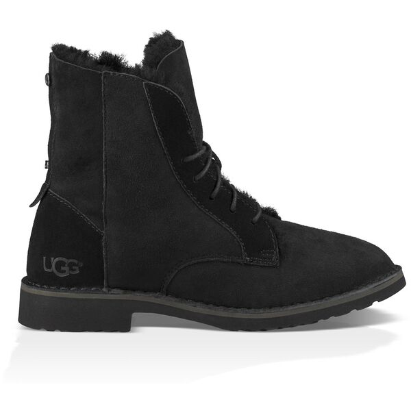 Womens Quincy Boot, BLACK, hi-res