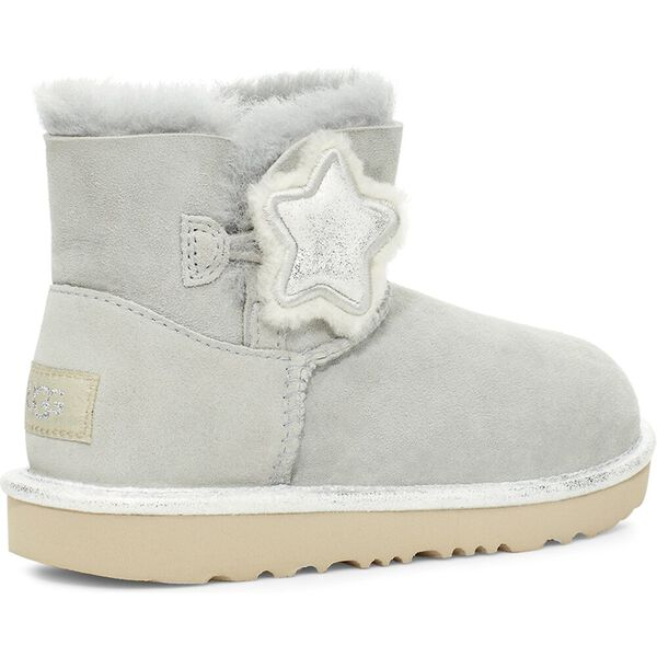 Kids Mini Bailey Button II Star Boot, GREY VIOLET, hi-res