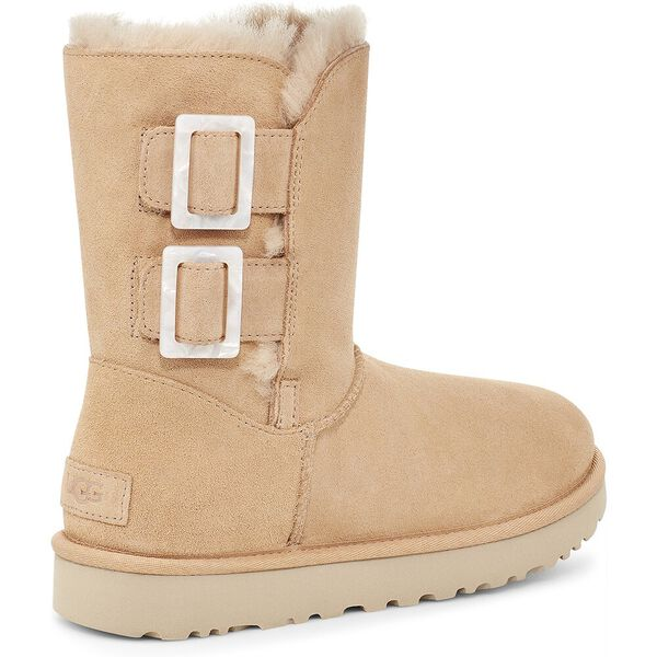 Womens Bailey Fashion Buckle Boot, BRONZER, hi-res