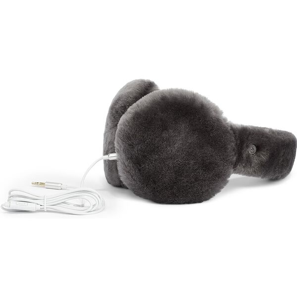 Exposed Sheepskin Tech Earmuff