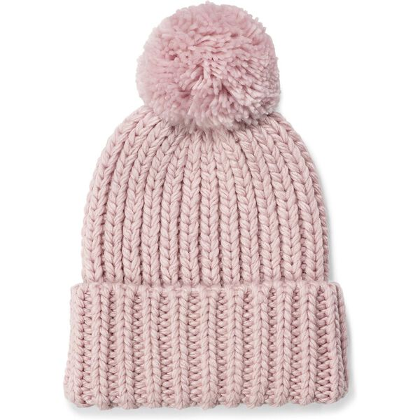 CHUNKY WIDE CUFF BEANIE, PINK CRYSTAL, hi-res