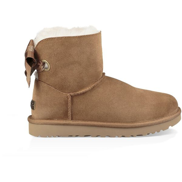 CUSTOMIZABLE BAILEY BOW MINI BOOT, CHESTNUT, hi-res