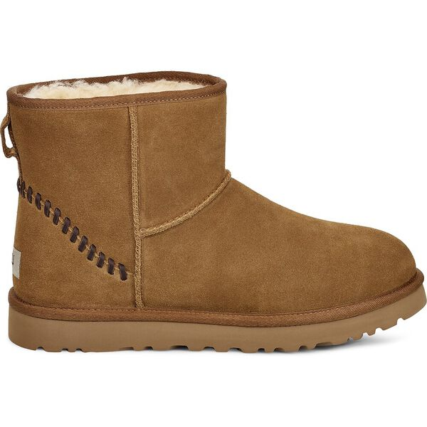 Classic Mini Deco Suede Boot, CHESTNUT, hi-res
