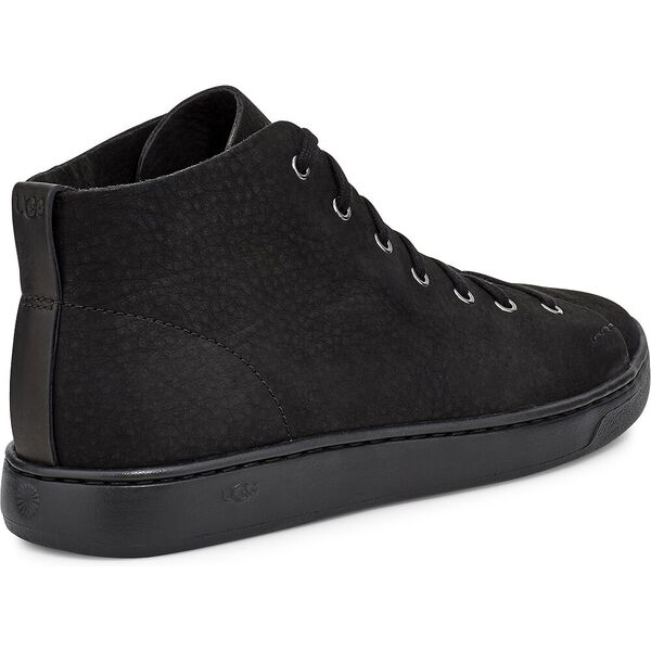 Mens Pismo High Sneaker, BLACK, hi-res