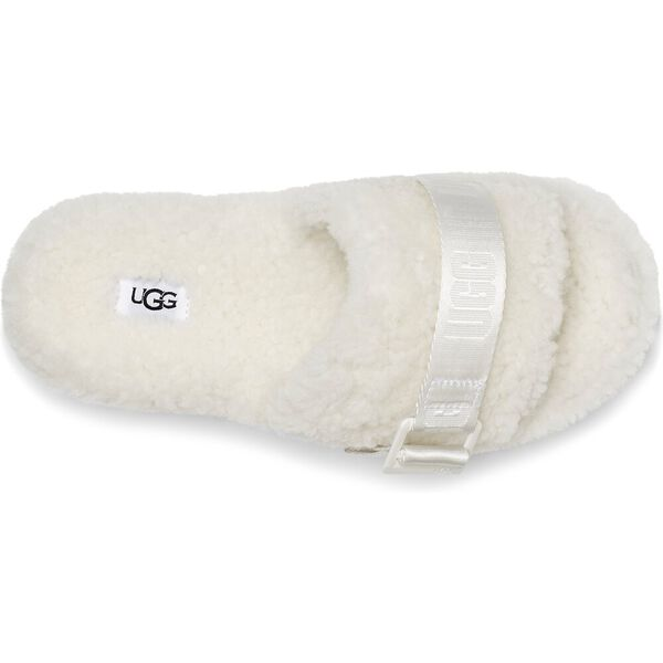 Fluffita Slipper, WHITE, hi-res
