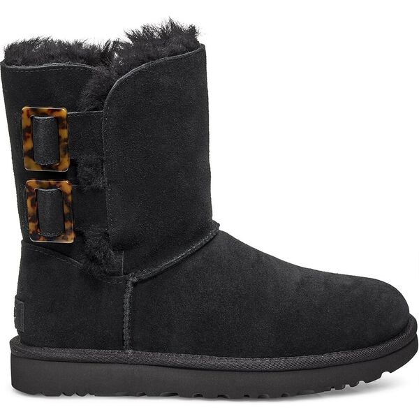 Bailey Fashion Buckle Boot, BLACK, hi-res